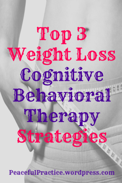 weight loss cognitive behavioral therapy