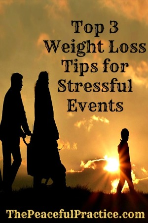 weight loss tips for stressful events